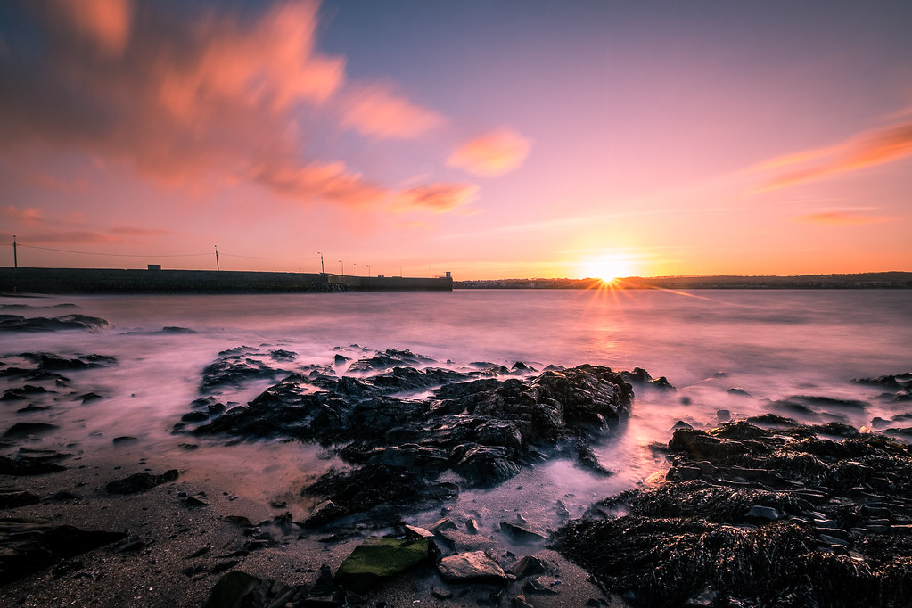 Sunset in Skerries - Ireland - Seascape photography