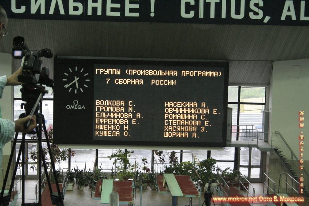 Сборная команда России по синхронному плаванию достопримечательностей