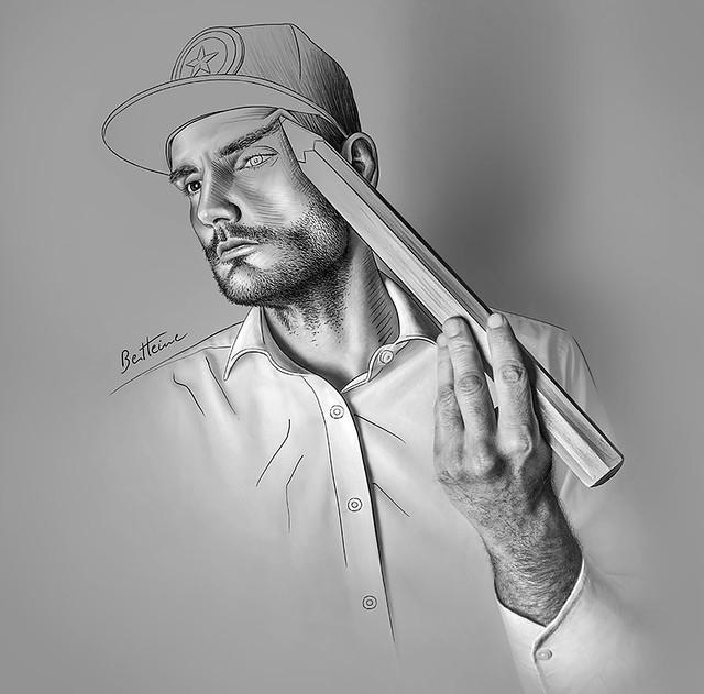 Ben Heine Self portrait