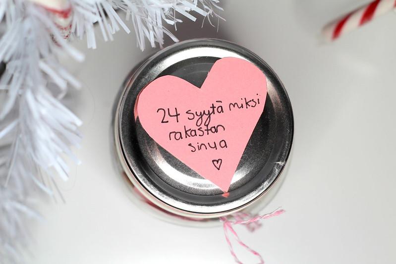 24 syytä miksi rakastan sinua joulukalenteri blogi