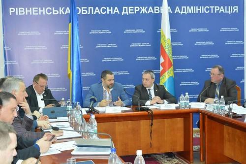 Вперше на Рівненщині працював КомітетВерховної Ради з питань бюджету