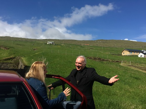 Fr. Paul Marx welcomes Vassula to the Faroe Islands