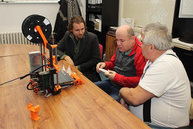 Jedním z taháků listopadové Agory byl workshop o 3D tisku