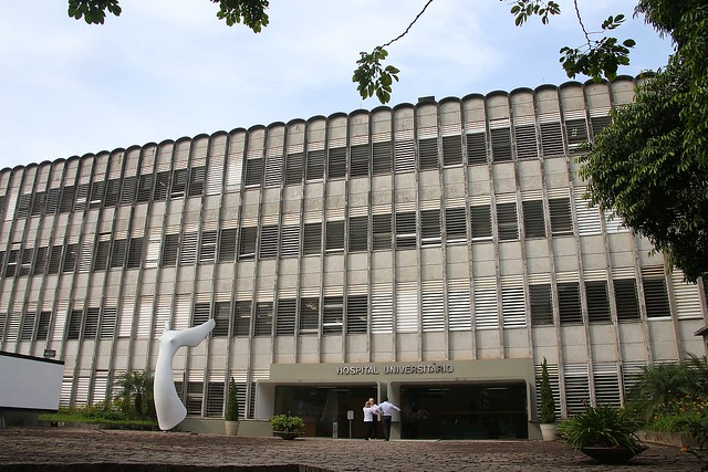 O HU é o único hospital da região que tem unidade de terapia intensiva e não consegue utilizar 40% do leito - Créditos: Marcos Santos/USP Imagens