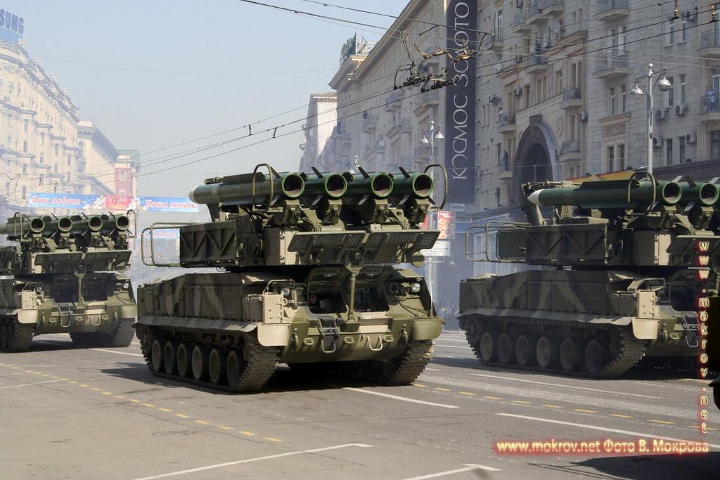 Военный парад 9 мая 2008 г. в Москве — Россия фоторепортажи