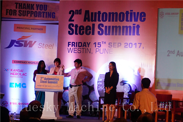 Cut To Length Machine Automotive Steel Summit In Pune