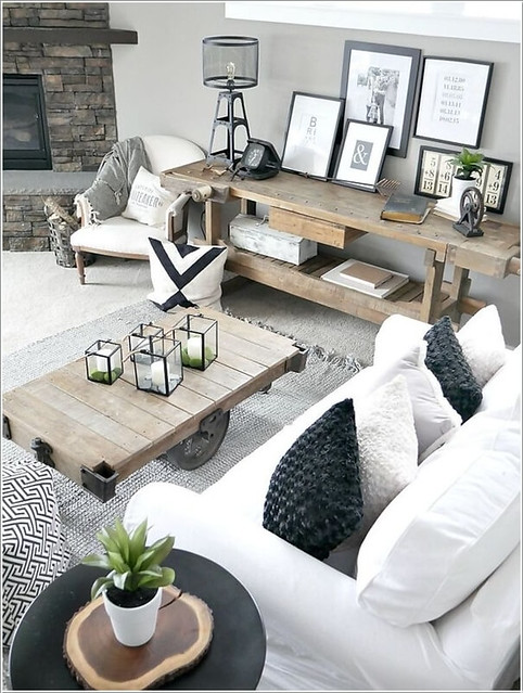Rustic Decor Features to Add to Your Living Room