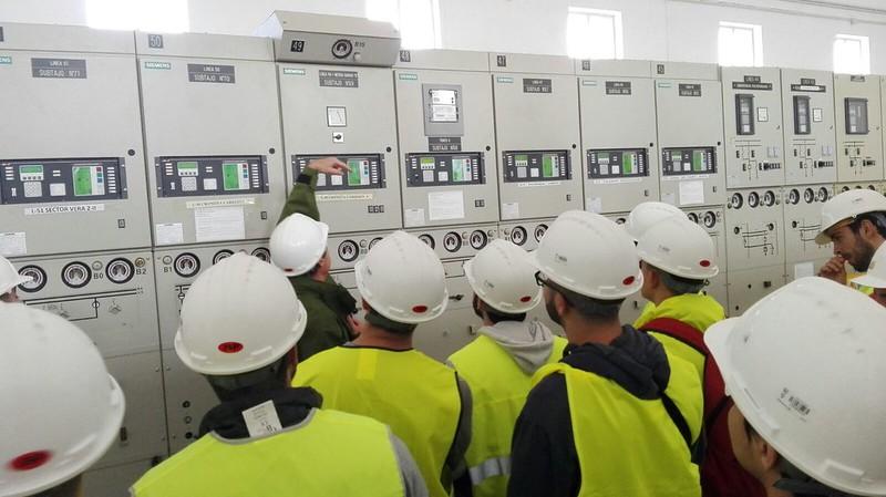 Visita a la Subestación Eléctrica de El Cabanyal - 2017