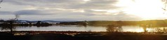 Loch of Skene in the winter gloaming