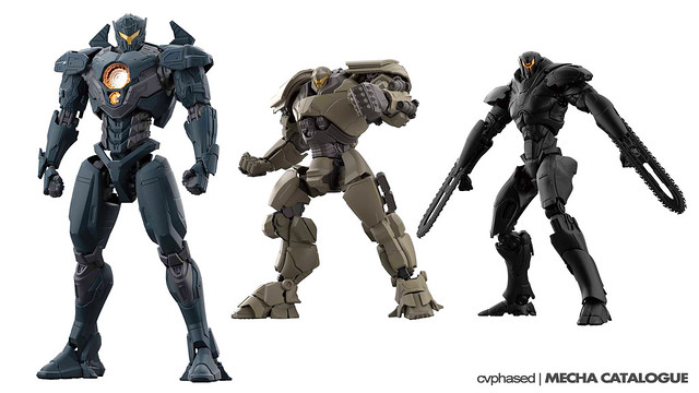 "Bandai Hobby - High Grade ""PACIFIC RIM Uprising"" Model Kits"