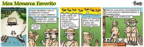 """""""Fardo do homem branco"""", por Marcelo Tiburcio"""