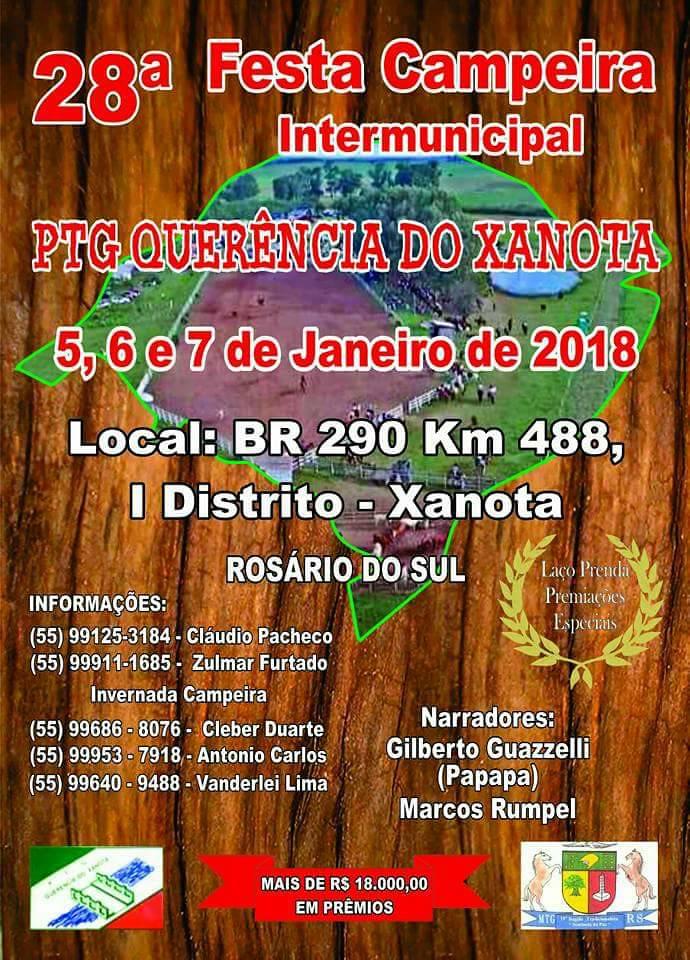 Festa Campeira PTG Querência do Xanota