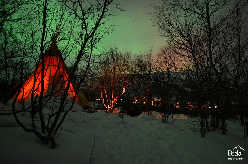 Abisko National Park - Sweden Best places to see Northern Lights
