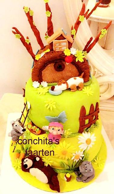 Cake by Conchita's taarten