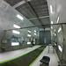 inside an aircraft automotive spray paint booth