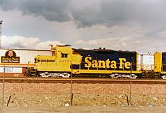 Santa Fe GP9 No. 2277 At Hobart Yard