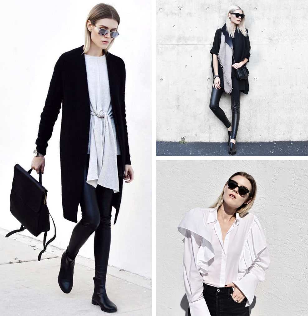 9 Minimalist Fashion Bloggers to Follow (Blair - Blair Badge)