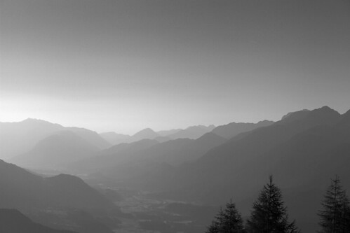 Alps in the morning