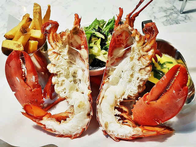 Live Whole Lobster, Steamed