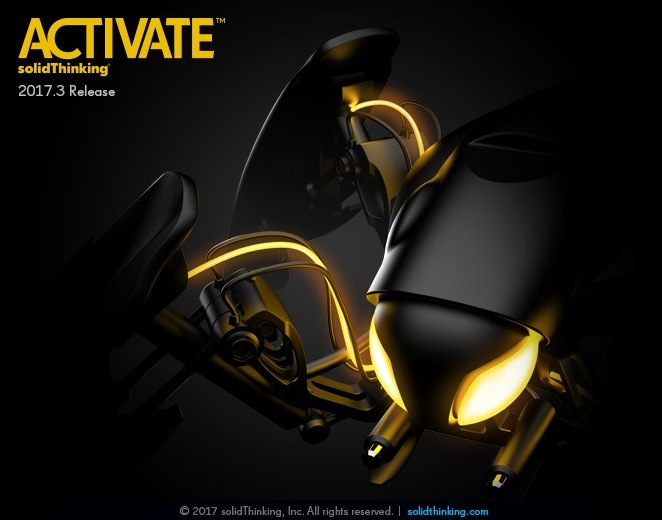 solidThinking Activate 2017.3.4619 Win64 full license