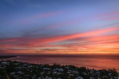 Pink sky over Saint-Gilles