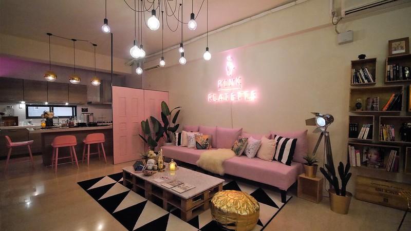 台南住宿推薦-pink flatette - 平克弗雷特