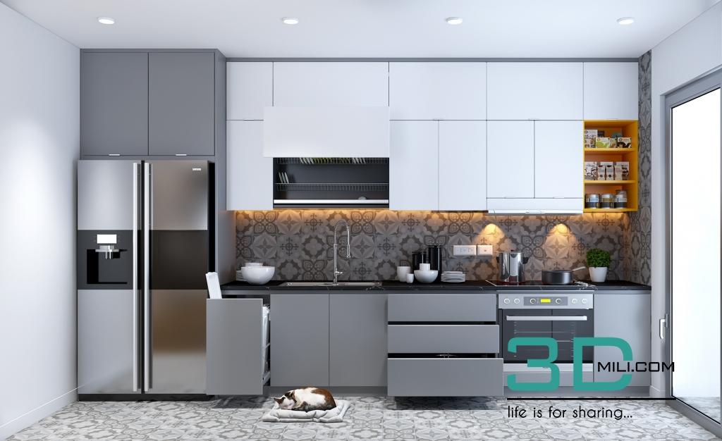 32 kitchen room 32 3dsmax file by min yoyo 3d mili download 3d