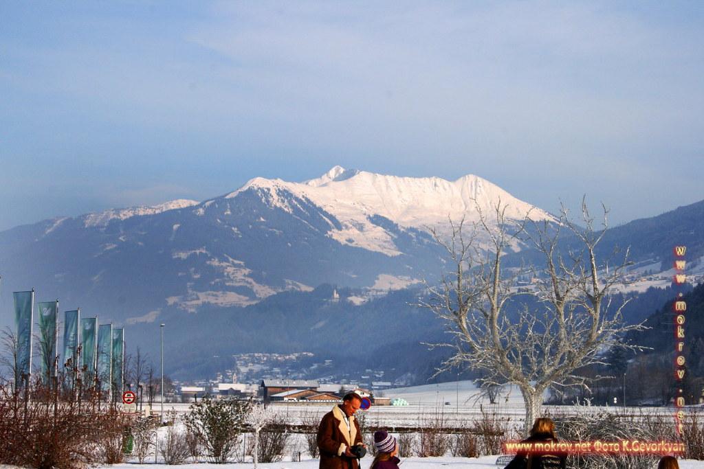 Инсбрук — город в Австрии фотозарисовки