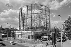 North Greenwich Gasholder