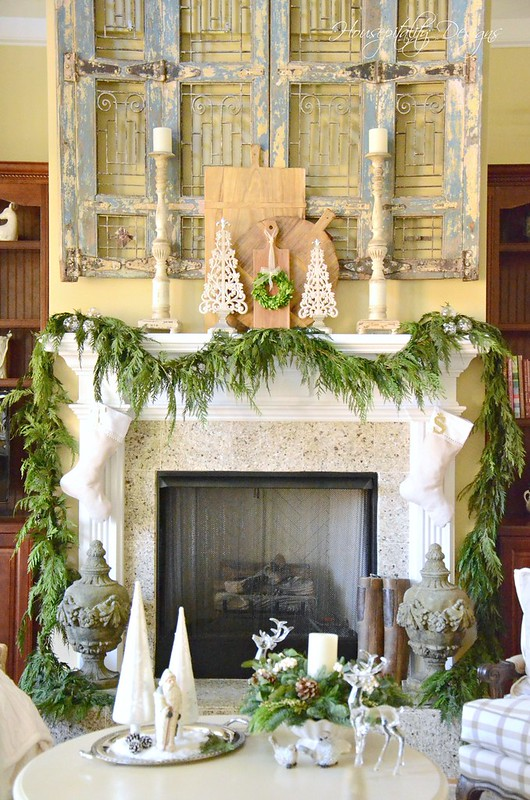 Christmas Mantel-Housepitality Designs-2