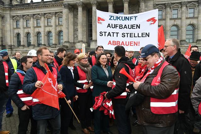 Solidarität mit den Siemens-Beschäftigten (21.11.17)