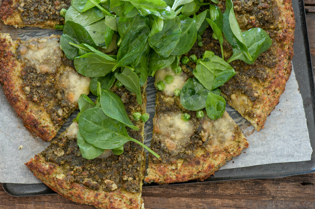 Pea & Pesto Pizza-3