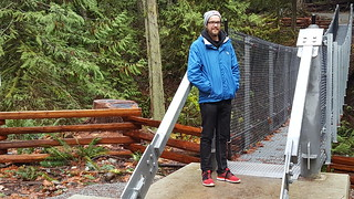 Goldstream Suspension Bridge