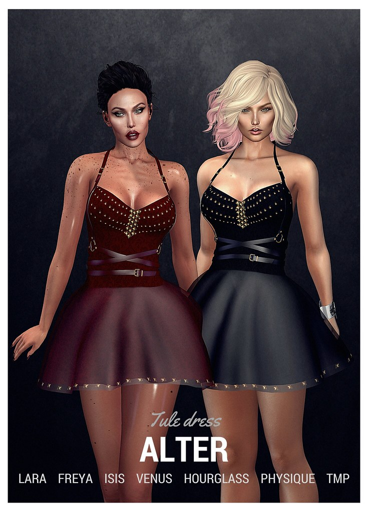 ::ALTER:: Tule dress - TeleportHub.com Live!
