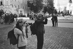 «Oh, these tourists ...»  (In the Trinity-Sergius Lavra)