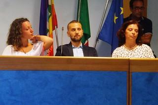 Noicattaro. Consiglieri maggioranza 5 Stelle front