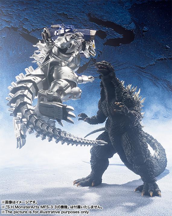 啟動.共鳴.冰碎! S.H.MonsterArts《哥吉拉x機械哥吉拉》哥吉拉 ゴジラ(2002)