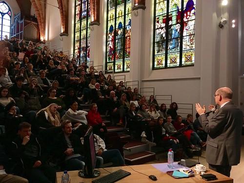 2017.11.22|Lezing in school Sancta Maria Leuven