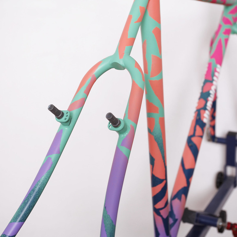 MUDWOMAN CX Frame Painted by Squid Bikes @Bikelore7