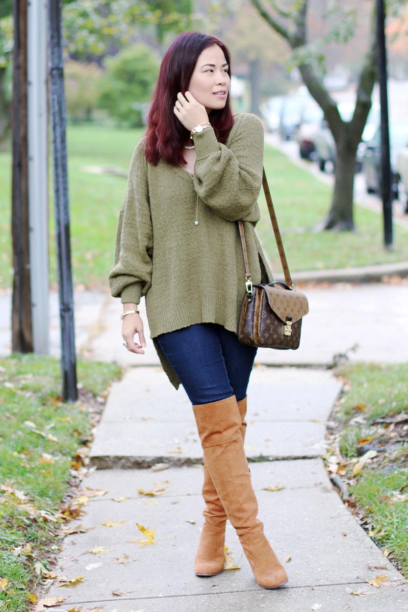 olive-green-sweater-jeans-otk-boots-anne-klein-watch-2