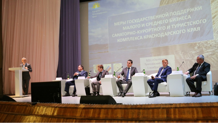 На Кубани обсудили эффективность мер господдержки и стимулирования развития малых предприятий курортной сферы