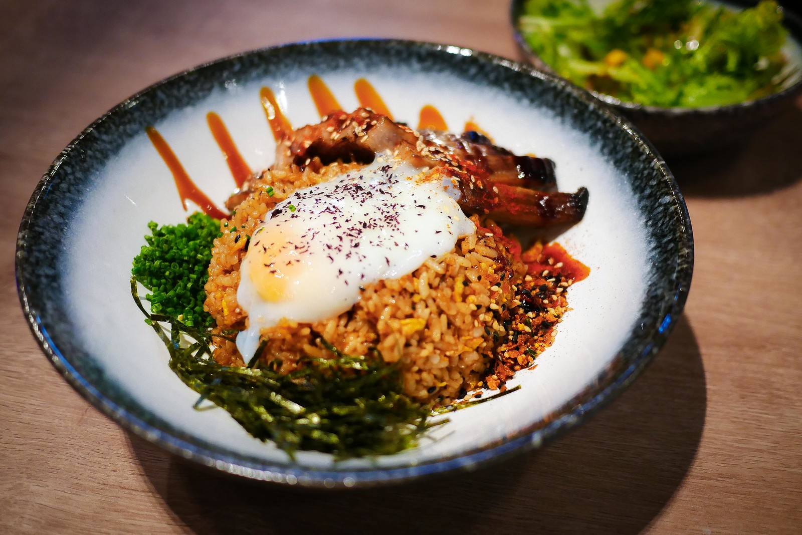 Pork Jowl Fried Rice