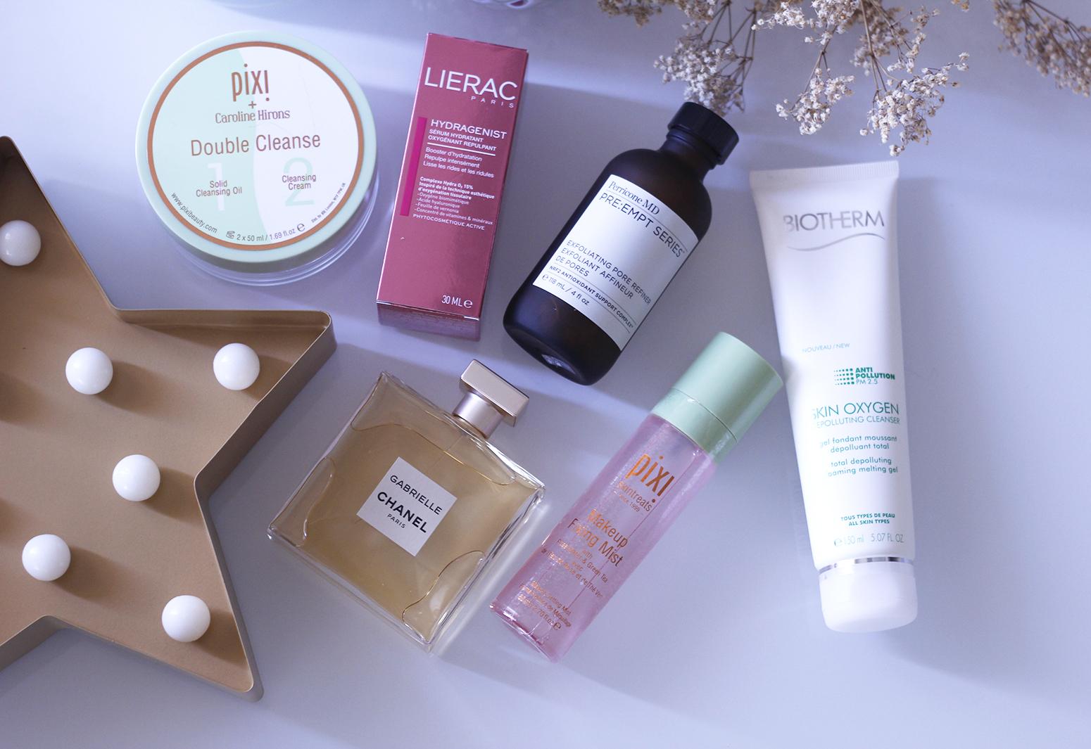 Rutina de belleza pixi biotherm chanel lierac lancôme eli saab cuidados de la piel cremas piel6