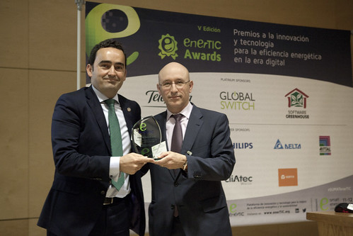 The Director of COMSA Industrial, Pablo Maset, recognized as the best manager in the Construction and Engineering sector by the enerTIC Awards