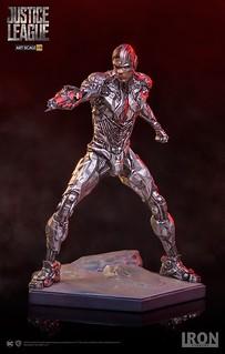 Iron Studios《正義聯盟》鋼骨 Justice League Cyborg 1/10 比例全身雕像作品