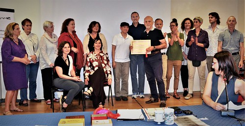 consegna diploma tuina Sandro Serafini 27 maggio 2017