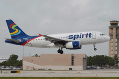 N515NK A319-132 Spirit Airlines