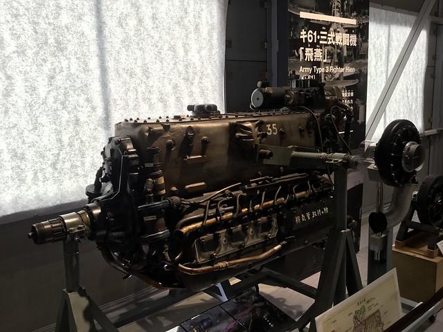 陸軍三式戦闘機飛燕 かかみがはら航空宇宙科学博物館収蔵庫 512