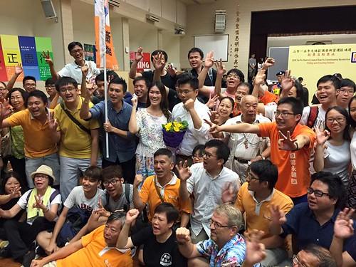 2015年區議會補選勝出