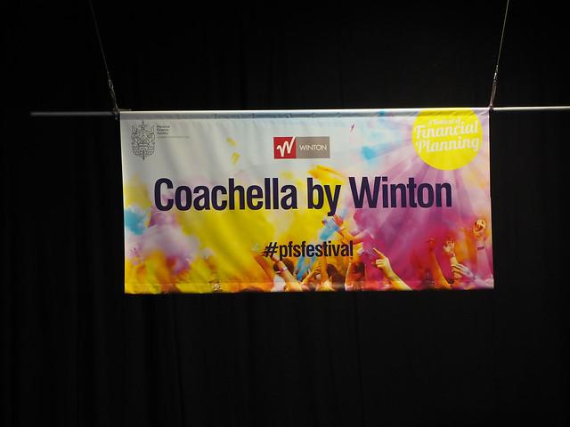 Coachella by Winton banner, Olympus PEN-F, Lumix G Vario 45-200mm F4.0-5.6 Mega OIS